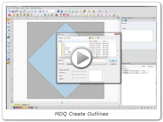 MDQ Create Outlines