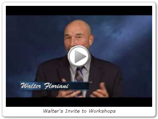 Walter's Invite to Workshops