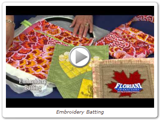 Embroidery Batting