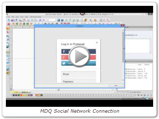 MDQ Social Network Connection
